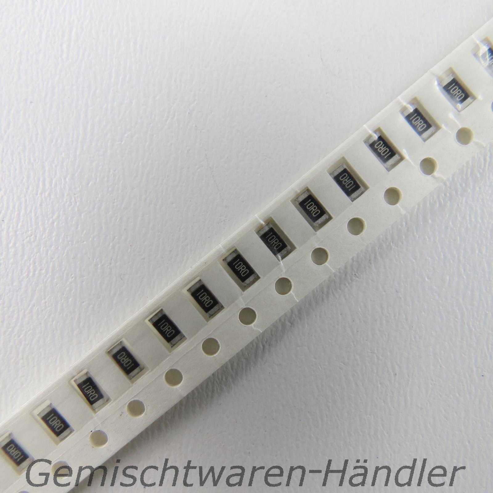 50-Stueck-SMD-Widerstaende-Bauform-1206-Werte-1-0-1000-Ohm-1-0-25-W-1-4-W