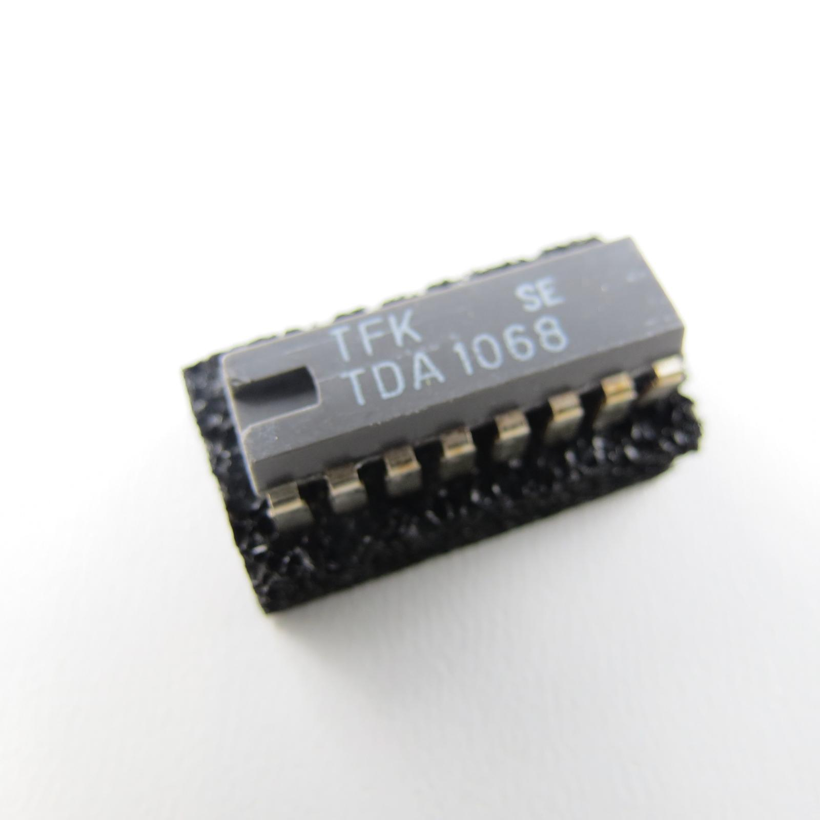 IC TDA1068 Autoradio Radio noise inverter