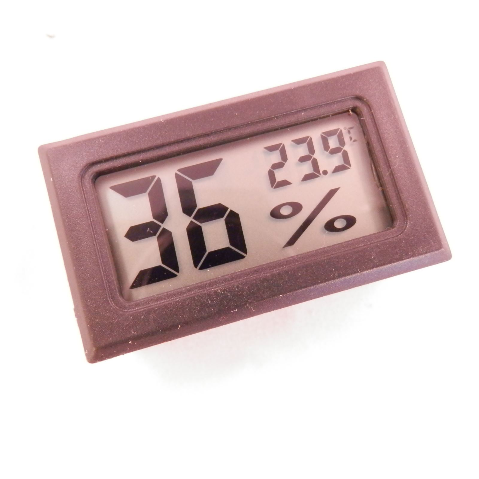 Digital LCD Thermometer Hygrometer Humidity Indoor Temperature Meter New Farbe=schwarz